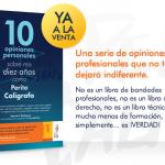Libro «10 opiniones personales sobre mis 10 años como Perito Calígrafo»